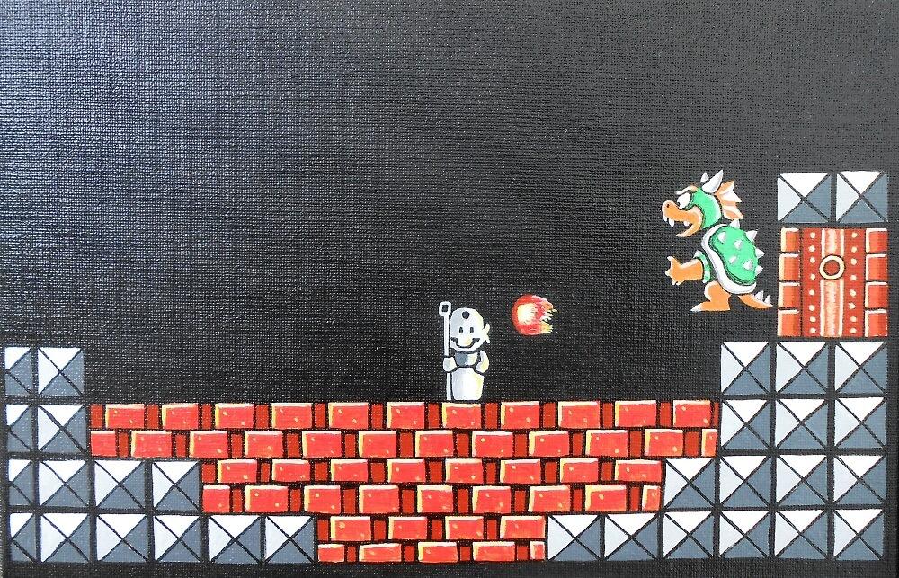 Super Mario vs Bower