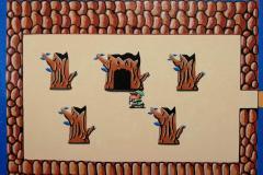 The legend of Zelda - entrata labirinto
