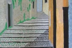 scalinata di erice40x50